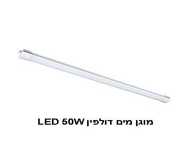 סופר אור וצבע - כל מה שבית יכול לבקש | מנורת קיר מוגן מים דולפין LED DF-66